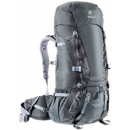 Batoh Deuter Aircontact 55+10  + pláštěnka na batoh